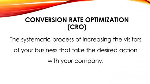 Conversion Rate Optimization Definition